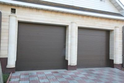 Рулонные ворота гаража СНТ Снегири